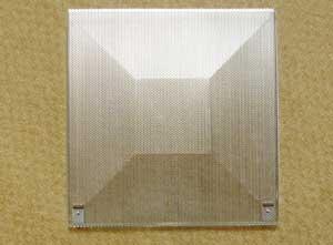 再生型アルミパンチングフィルター