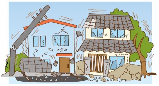 巨大地震発生!