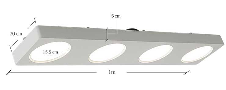 ライト本体のサイズ
